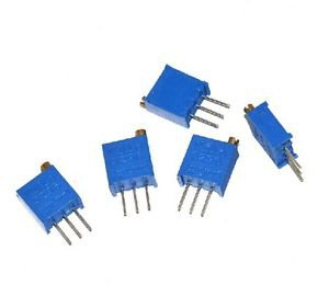 6pcs 3296 W High Precision Variable Resistor Potentiometer Trimmer 102 1K ohm