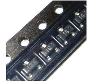 50pcs BC847 BC847B SOT-223 45V 100mA Small Signal Transistors NEW GOOD QUALITY