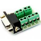 2pcs DB9 female adapter signals Terminal module RS232 to Terminal