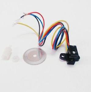 5PCS Photoelectric Speed Sensor Encoder Coded Disc code wheel For Freescale