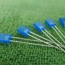 1000PCS 2x5x7mm 2*5*7MM Rectangle LED Blue Colour Blue Light Emitting Diode
