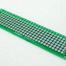 100PCS Double Side Prototype PCB Bread board Tinned Universal 2x8 20mmx80mm FR4