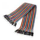 5pcs x 40pcs Dupont Wire Color Jumper Cable 1P to 1P Male to Male For Solderless