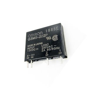 10PCS G3MB-202P DC-AC PCB SSR In 12V DC AC 2A Out 240V Solid State Relay Module