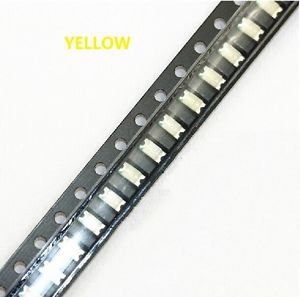 200 pcs SMD SMT 1206 Super bright Yellow LED lamp Bulb GOOD QUALITY