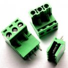 5PCS KF2EDGK KF-3P Right-Angle Plug-in Terminal Connector 5.08mm Pitch T2