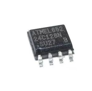 5pcs AT24C128 SOP8 24C128 IC EEPROM 128KBIT 1MHZ NEW