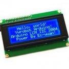 1pcs Blue IIC/I2C/TWI/SPI Serial Interface2004 20X4 Character LCD Module NEW