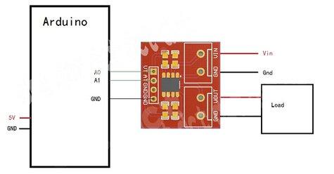 5PCS Max471 Voltage Current Sensor Votage Sensor Current Sensor Arduino