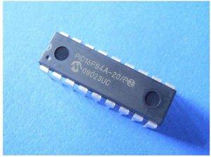 2pcs PIC16F84A-04/P PIC16F84A 16F84A DIP-18 18-pin DIP Original DIP18