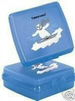 Tupperware Polar Bear Sandwich Keeper Set