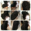 Faux Loc Whole lace wig