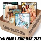 1,000 brand-new Adult XXX DVDs from the biggest names in the industry $0.75