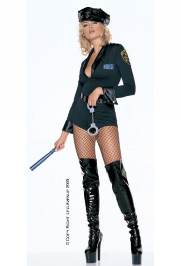 5 Piece Sexy Cop