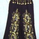 Black Belly Dance Top & Trouser Set -- V0302