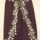 Brown Belly Dance Top & Pant Set -- V0291