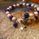 Tranquil [Blue Awareness Bracelet w/ Hope Charm] #742