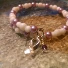 Breathe [Purple Awareness Bracelet w/ Hope Charm] #742