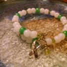 Stability [Green Awareness Bracelet w/ Hope Charm] #742