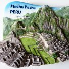 Machu Picchu Peru South America 3D fridge magnet