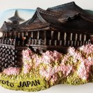 Kyoto Japan Kiyomizu-dera Water Temple 3D fridge magnet