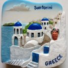 Santorini GREECE High Quality Resin 3D fridge magnet