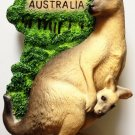 Kangaroo AUSTRALIA High Quality Resin 3D fridge magnet