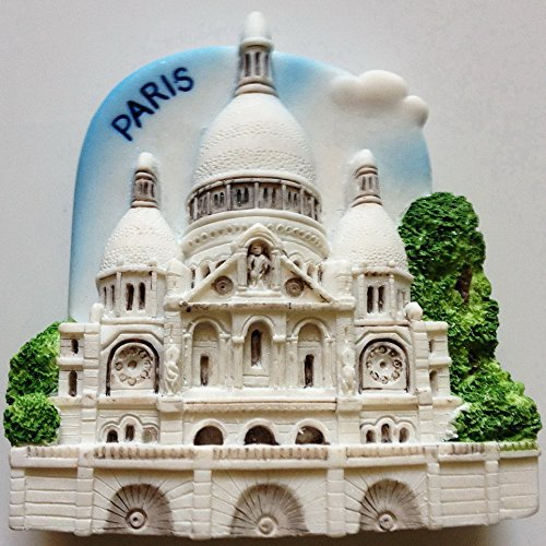 Sacre Coeur Church Paris High Quality Resin 3D fridge magnet