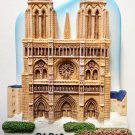 Notre Dame of Paris High Quality Resin 3D fridge magnet