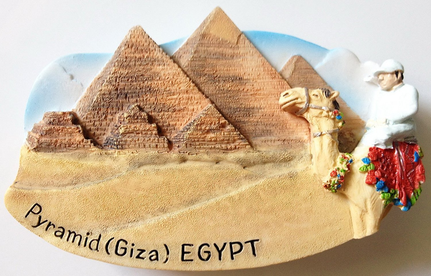 Piramid (Giza) EGYPT High Quality Resin 3D fridge magnet