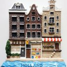 Holland Houses HOLLAND High Quality Resin 3D fridge magnet