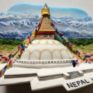 Bouddhanath Stupa NEPAL High Quality Resin 3D fridge magnet