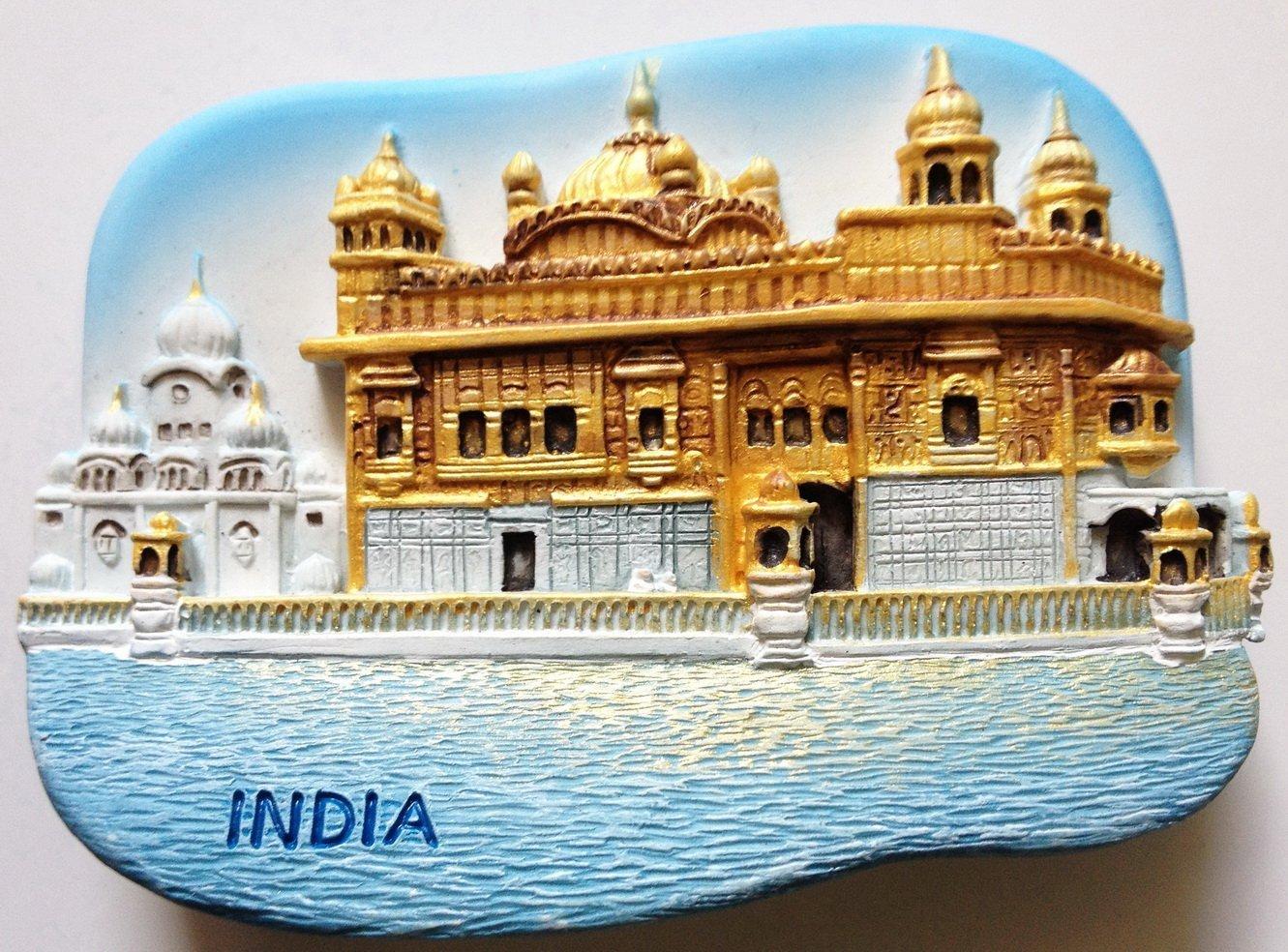 The Golden Temple (Harmandir Sahib) Amritsar INDIA 3D fridge magnet