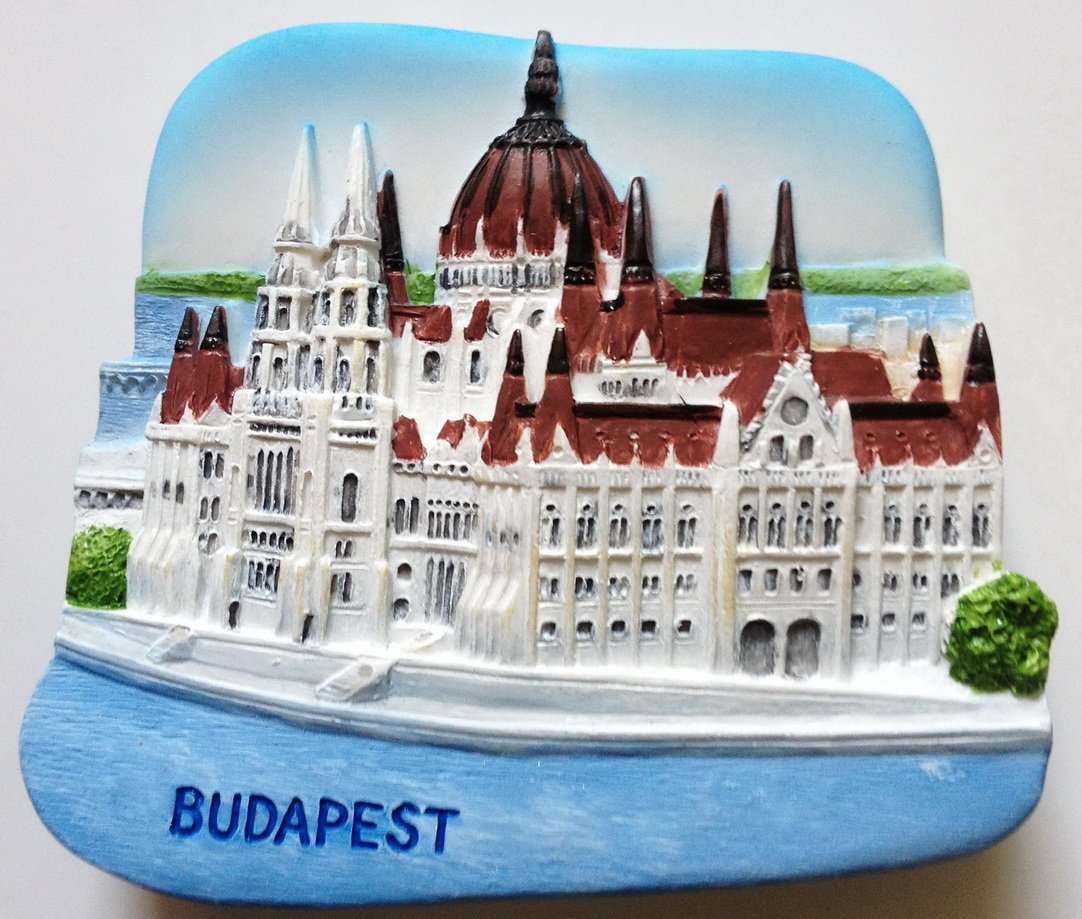 The Parliament Budapest Hungary High Quality Resin 3D fridge magnet