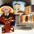 Water Seller Marrakech Morocco High Quality Resin 3D fridge magnet