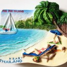 PHI PHI Island Krabi Thailand High Quality Resin 3D fridge magnet