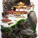 Tiger's Nest Monastery BHUTAN High Quality Resin 3D fridge magnet