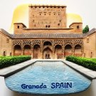 Alhambra Palace Granada SPAIN High Quality Resin 3D fridge magnet