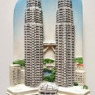 Petronas Twin Towers Malaysia High Quality Resin 3D fridge magnet