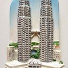 Petronas Twin Towers Malaysia High Quality Resin 3D fridge magnet