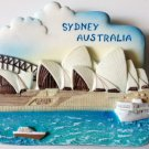 Opera House SYDNEY AUSTRALIA High Quality Resin 3D fridge magnet