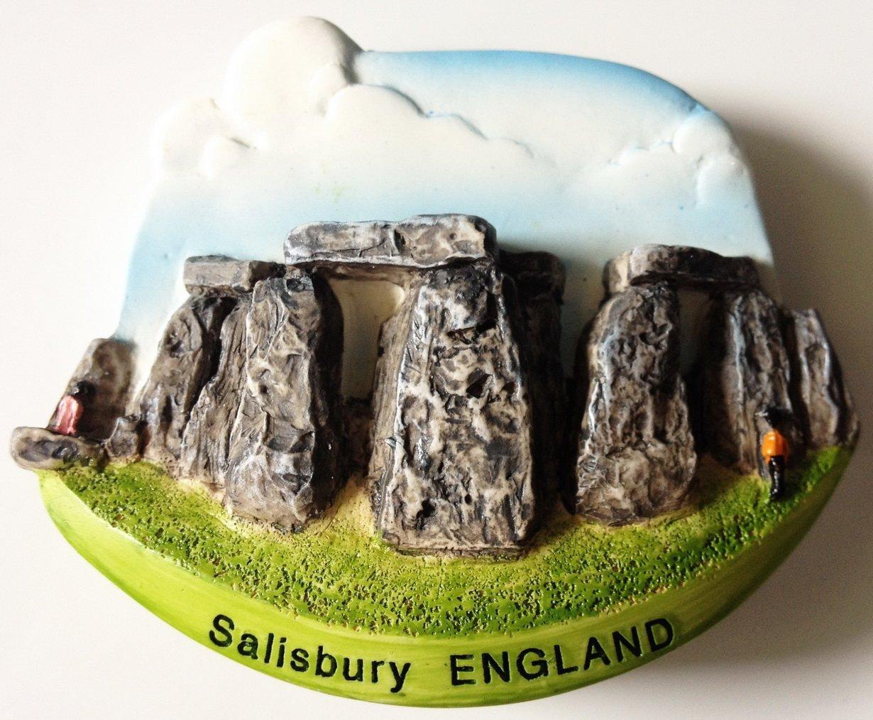 Stonehenge Salisbury ENGLAND High Quality Resin 3D fridge magnet