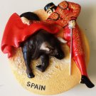 Bullfighting Matador Spain High Quality Resin 3D fridge magnet