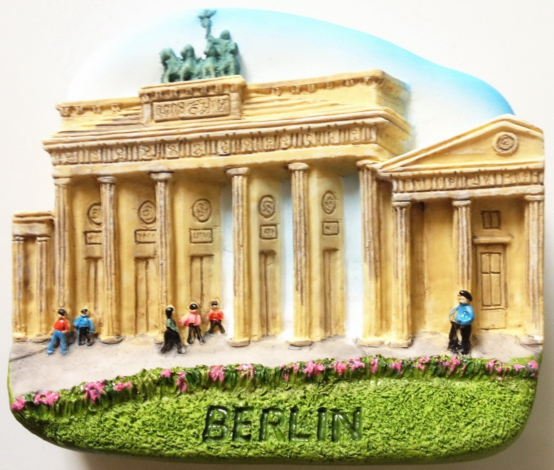 Brandenburger Tor BERLIN High Quality Resin 3D fridge magnet