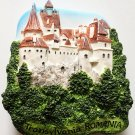 Bran Castle (Dracula's) Transylvania ROMANIA High Quality Resin 3D fridge magnet