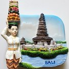 Pura Ulun Danau Temple by Lake Bratan BALI High Quality Resin 3D fridge magnet