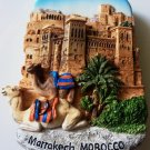 Kasbah of Ait Ben Hadou Marrakech MOROCCO High Quality Resin 3D fridge magnet