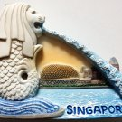 The Merlion Lion Fish Statue SINGAPORE High Quality Resin 3D fridge magnet