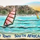 Table Mountain Cape Town SOUTH AFRICA High Quality Resin 3D fridge magnet