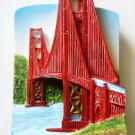 The Golden Gate Bridge SAN FRANCISCO High Quality Resin 3D fridge magnet